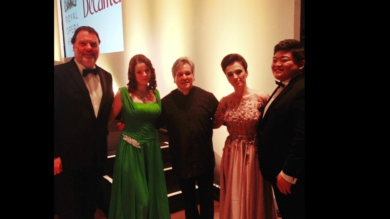 """The Decanter Gala"" at the ROH"